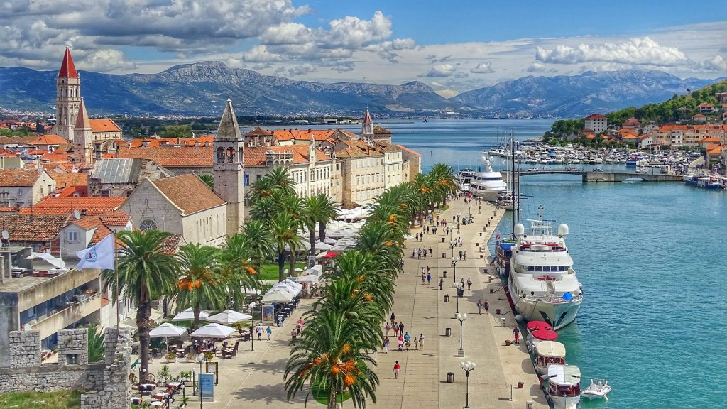 weer in kroatie