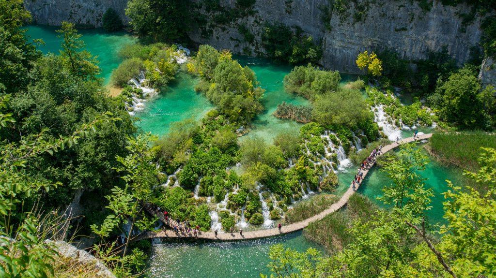 watervallen kroatie