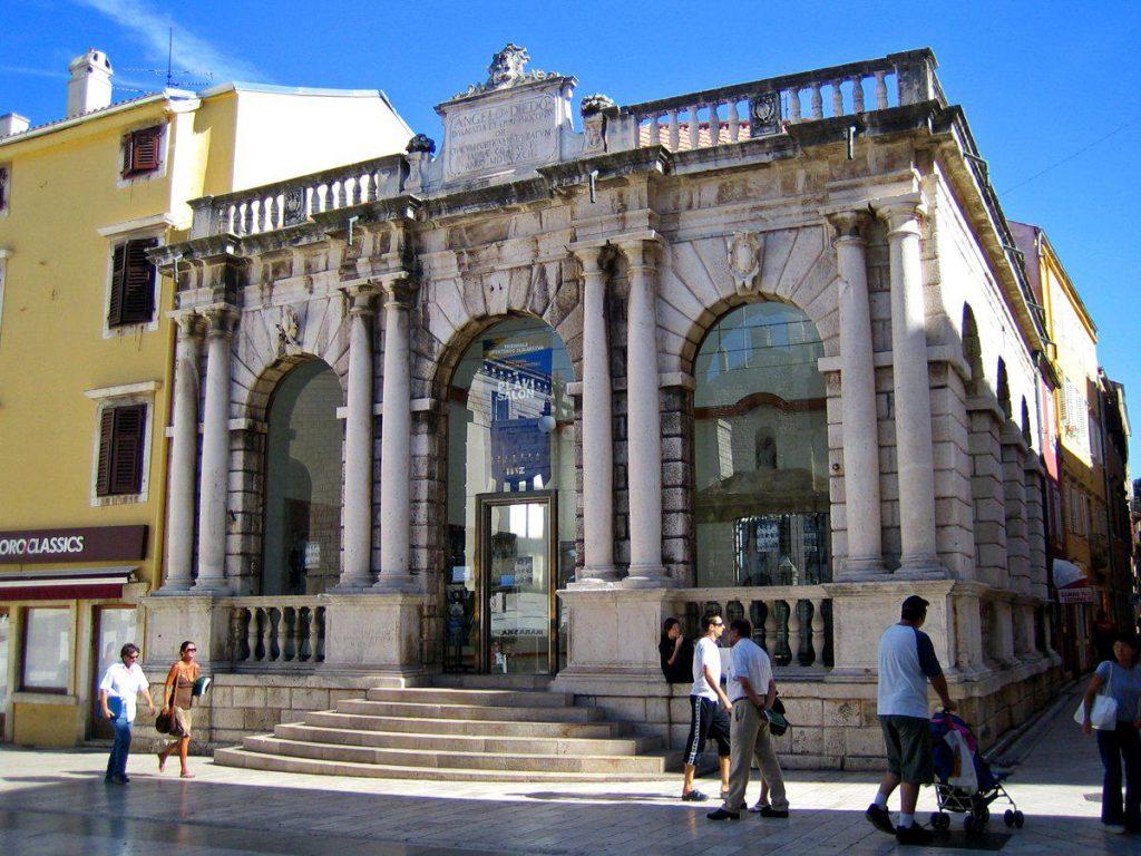 HetNationaal museumin Zadar